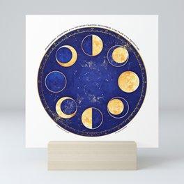 Celestial Atlas :: Lunar Phases Mini Art Print