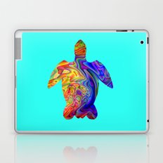 Psychedelic Sea Turtle Laptop & iPad Skin