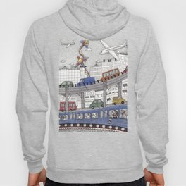 Taking the Red Line Hoody