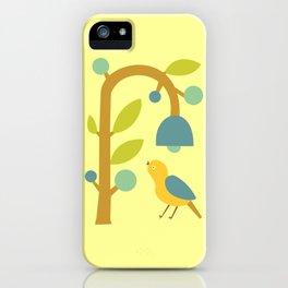 Modern Pop Art Yellowbird iPhone Case