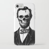 lincoln iPhone & iPod Cases featuring Abraham Lincoln by Motohiro NEZU
