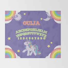 My Little Pony Ouija Board Throw Blanket