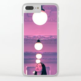 Pop Girl Light Clear iPhone Case