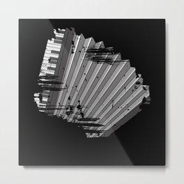 Accordion Organ musician accordionist Metal Print