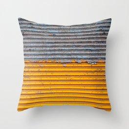 Painting away Throw Pillow
