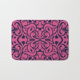 Kaleidoscope Pink&Blue Bath Mat