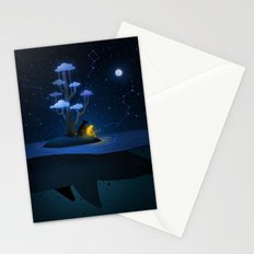 Whale Island Stationery Cards