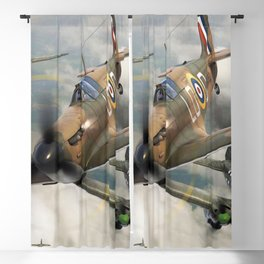 Spitfire vs He111 Blackout Curtain