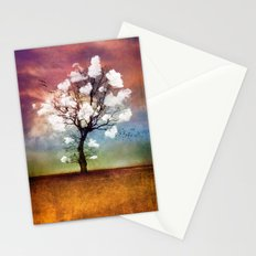 ATMOSPHERIC TREE - Pick me a cloud... Stationery Cards
