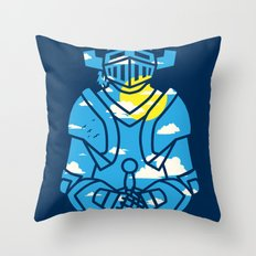 Day N' knight Throw Pillow