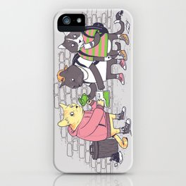 Meowy Wowy iPhone Case