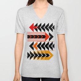 Colourful Arrows Graphic Art Design Unisex V-Neck