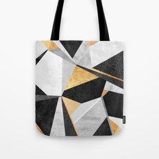Geometry / Gold Tote Bag