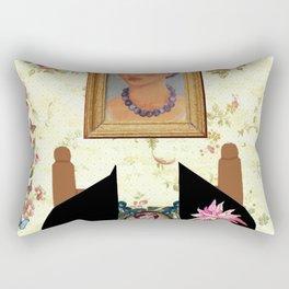 Frida kahlo portrait Rectangular Pillow