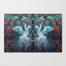 The Song of Swans Canvas Print