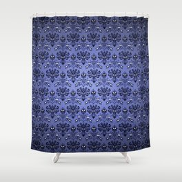 Beauty Haunted Mansion Wallpaper Stretching Room Shower Curtain