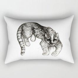 Tropical Wild Cat Rectangular Pillow
