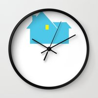 home alone Wall Clocks featuring Home Alone. by Your Best Friend