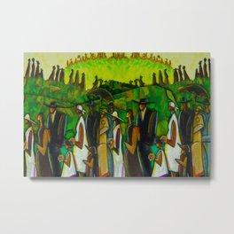 African American Masterpiece 'Funeral Procession' by Ellis Wilson Metal Print