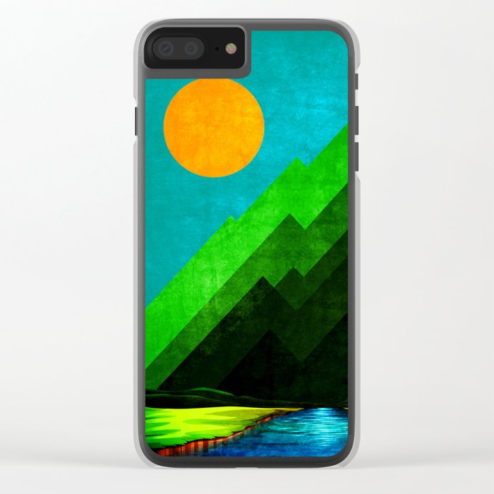 Green Peak XXVI Clear iPhone Case