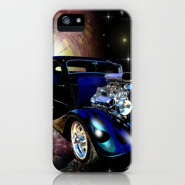 Hot Rods In Space iPhone Case