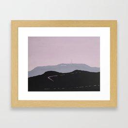 East Ridge Framed Art Print