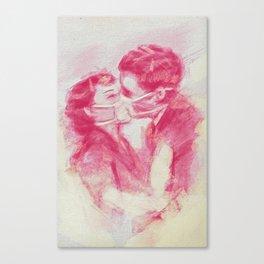 Toxic Kiss Canvas Print
