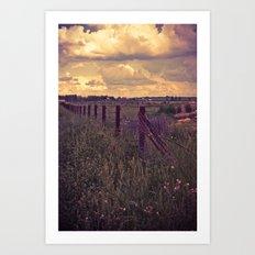 Alberta Skies Art Print