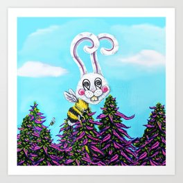 The Buds and the Bees Art Print