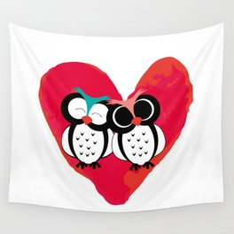 love owls Wall Tapestry