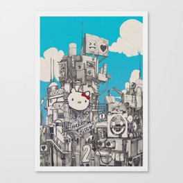 Phuture World Canvas Print