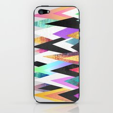 Colorful Peaks iPhone & iPod Skin