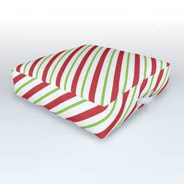 striped Outdoor Floor Cushion