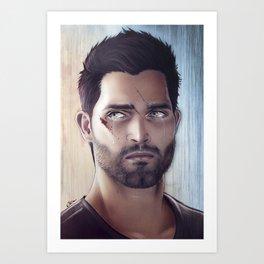 Teen Wolf - Derek Hale V2 Art Print