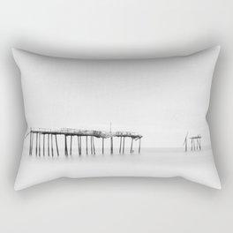 Frisco Pier (B&W) Rectangular Pillow