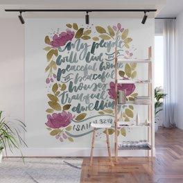 Isaiah :18 Wall Mural