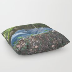 Enchanted magical forest Floor Pillow