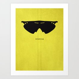 Armstrong Spectacles Art Print