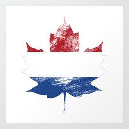 Netherlands/Canada Art Print
