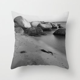 Stones in the sea 3 Throw Pillow