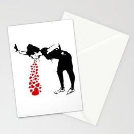 Lovesick - Banksy, Streetart Street Art, Grafitti, Artwork, Design For Men, Women, Kids Stationery Cards