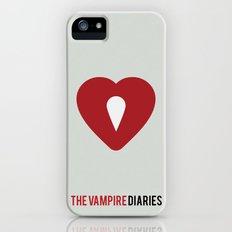 The Vampire Diaries - Minimalist iPhone (5, 5s) Slim Case
