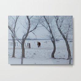 Winter Landscape No.8 Metal Print