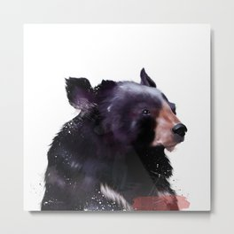 Moon bear Metal Print