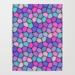 Multicolor Pattern Poster