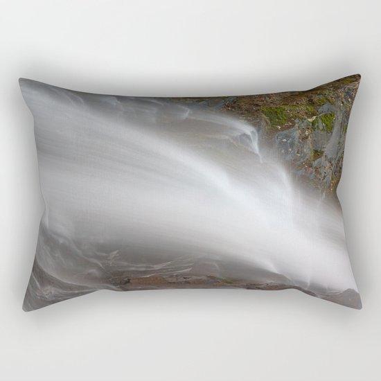 Jones Run Falls Rectangular Pillow