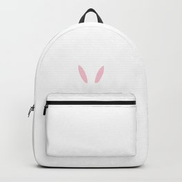 Happy Easter Popped Out Bunny Ears Backpack