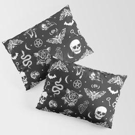 Witchcraft B&W Pillow Sham