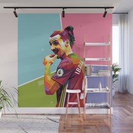 Zlatan Ibrahimovic alt-color WPAP Wall Mural