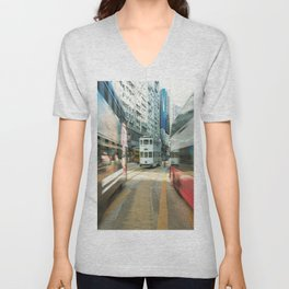 Hong Kong Public Transport Unisex V-Neck